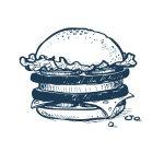 The Gap Kitchen Cafe brekkie burger